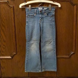 Girls boot cut jeans size 5